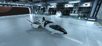 Διαστημικό σκάφος στοκ εικόνα με δικαίωμα ελεύθερης χρήσης