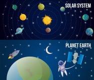 Διαστημικό σύνολο κόσμου ελεύθερη απεικόνιση δικαιώματος