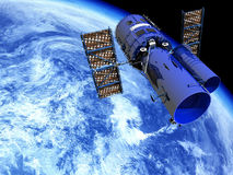 διαστημικό τηλεσκόπιο Στοκ Εικόνες