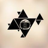Διαστημικό τρίγωνο κρανών Στοκ Εικόνα