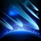Διαστημικό υπόβαθρο αστεριών ουρανού 10 eps απεικόνιση αποθεμάτων