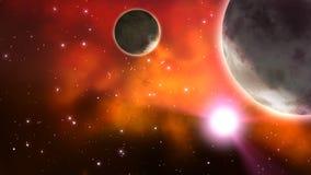 Διαστημικό υπόβαθρο βρόχος διανυσματική απεικόνιση