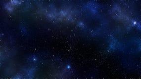 Διαστημικό υπόβαθρο νεφελώματος γαλαξιών Στοκ Εικόνες
