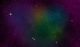 Διαστημικό υπόβαθρο σχεδίου απεικόνισης scape Στοκ εικόνα με δικαίωμα ελεύθερης χρήσης