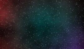 Διαστημικό υπόβαθρο σχεδίου απεικόνισης scape Στοκ Φωτογραφίες