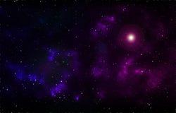 Διαστημικό υπόβαθρο Στοκ Φωτογραφίες