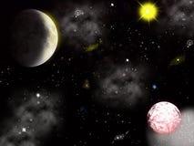 Διαστημικό υπόβαθρο διανυσματική απεικόνιση