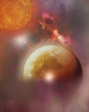 Διαστημικό όνειρο Στοκ Φωτογραφίες