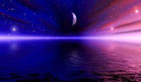 διαστημικό όραμα διανυσματική απεικόνιση