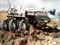 Διαστημικό όχημα από τον κινηματογράφο Armageddon Στοκ φωτογραφία με δικαίωμα ελεύθερης χρήσης
