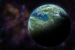 Διαστημικό BG Στοκ εικόνες με δικαίωμα ελεύθερης χρήσης