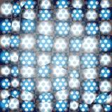 Διαστιγμένη περίληψη σύσταση προσθηκών. Μπλε Στοκ Εικόνα