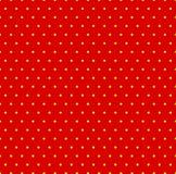 Διαστιγμένο επαναλαμβανόμενο popart όπως το σχέδιο duotone Το Speckled κόκκινο φωνάζει απεικόνιση αποθεμάτων