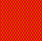Διαστιγμένο επαναλαμβανόμενο popart όπως το σχέδιο duotone Το Speckled κόκκινο φωνάζει ελεύθερη απεικόνιση δικαιώματος