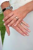 διασχισμένα χέρια Στοκ φωτογραφία με δικαίωμα ελεύθερης χρήσης