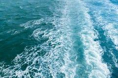 Διαταραγμένα κύματα στη Βόρεια Θάλασσα, περιοχή Kattegat θάλασσας στοκ φωτογραφίες