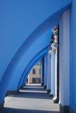 Διατηρώντας τοίχοι του ορθόδοξου καθεδρικού ναού, Κίεβο Στοκ Εικόνες