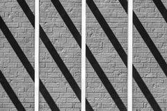 Διατομή φραγμών και σκιών Στοκ Εικόνα