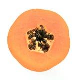 Διατομή Papaya Στοκ εικόνα με δικαίωμα ελεύθερης χρήσης