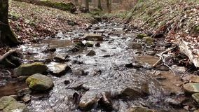 Διατρέχοντας σαφές νερό της ευρείας χώρας