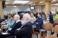 Διατριβή του Bertrand Meyer η διάσκεψη TMPA Στοκ φωτογραφίες με δικαίωμα ελεύθερης χρήσης