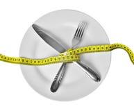 Διατροφή - απώλεια βάρους Στοκ Εικόνες