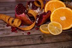 Διατροφή και υγιεινή έννοια τρόπου ζωής Φρούτα στοκ φωτογραφία με δικαίωμα ελεύθερης χρήσης
