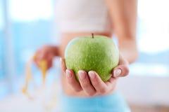 Διατροφή της Apple Στοκ εικόνα με δικαίωμα ελεύθερης χρήσης