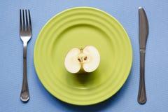 Διατροφή της Apple Στοκ Φωτογραφίες