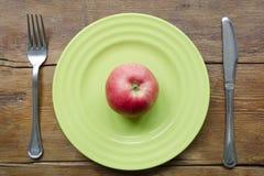 Διατροφή της Apple Στοκ εικόνες με δικαίωμα ελεύθερης χρήσης