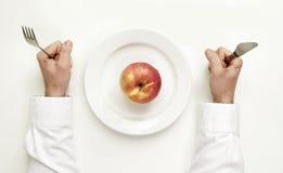 Διατροφή της Apple Στοκ Εικόνα
