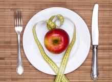 Διατροφή της Apple Στοκ Εικόνες