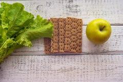 Διατροφή ψωμιού για την απώλεια βάρους στοκ φωτογραφία με δικαίωμα ελεύθερης χρήσης