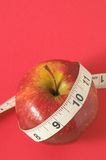 Διατροφή Apple Στοκ Εικόνες