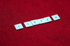 Διατύπωση της αγάπης Στοκ φωτογραφία με δικαίωμα ελεύθερης χρήσης