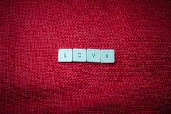 Διατύπωση της αγάπης Στοκ Φωτογραφία