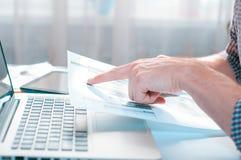 Διαφήμισης εμπορική έννοια μάρκετινγκ προώθησης ψηφιακή Βελτίωση των στατιστικών στοκ εικόνες