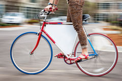 Διαφήμιση ποδηλάτων στοκ εικόνα με δικαίωμα ελεύθερης χρήσης