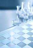 διαφανές λευκό κομματιών & Στοκ εικόνα με δικαίωμα ελεύθερης χρήσης