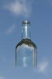 Διαφανές μπουκάλι Στοκ εικόνα με δικαίωμα ελεύθερης χρήσης