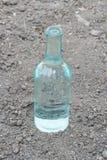 Διαφανές μπουκάλι Στοκ φωτογραφία με δικαίωμα ελεύθερης χρήσης