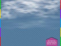 Διαφανής διαφάνεια ειδικό εφέ σύννεφων, ομίχλης ή καπνού με το πρόσθετο σχήμα μόνο Στοκ εικόνα με δικαίωμα ελεύθερης χρήσης