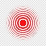 Διαφανή ομόκεντρα στοιχεία κύκλων όπως τον πόνο Στοκ εικόνα με δικαίωμα ελεύθερης χρήσης