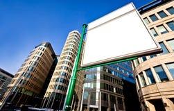 διαφημιστική μεγάλη κενή &kappa Στοκ Εικόνες