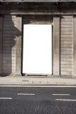 διαφημιστική περιοχή αφι&sigm Στοκ εικόνα με δικαίωμα ελεύθερης χρήσης
