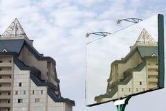 διαφημιστική στάση χαρτον&i Στοκ Φωτογραφίες
