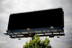 διαφημιστικό μαύρο κενό πιν Στοκ Εικόνα