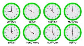 Διαφορά ώρας Στοκ Εικόνα