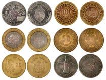 Διαφορετικά αραβικά νομίσματα Στοκ Φωτογραφία