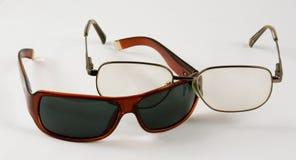 Διαφορετικά γυαλιά στοκ εικόνα